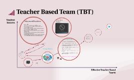 Copy of Copy of Teacher Based Teams (TBT)
