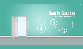 Copie de Door to Success - Prezi Template
