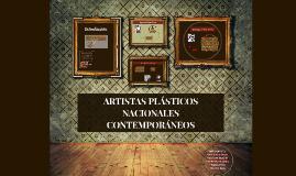 Copy of Artistas plásticos nacionales contemporaneos