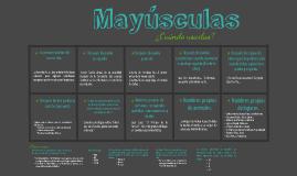 Copy of Uso de las mayúsculas