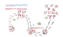 Democracia Populista, Ditadura Militar e redemocratização