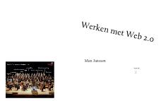 Werken met Web 2.0