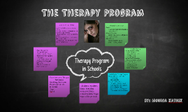 Therapy programs