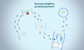 Recursos energéticos: ¿de donde provienen?