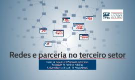 Copy of Redes e parceria no terceiro setor