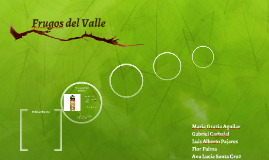 Frugos del Valle