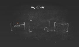 May 10, 2016