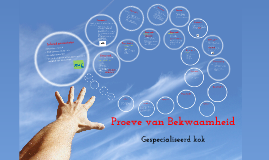 Copy of PvB Gespecialiseerd kok