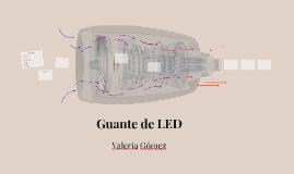 Guante de LED