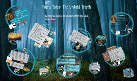 Copy of Fairy Tales: The Untold Truth