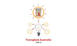 MDIA2005 Transplant Australia Pitch