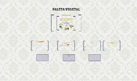 PALETA VEGETAL Y SUSTRATOS