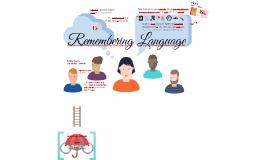 Remembering Language