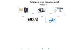 Educación no convencional
