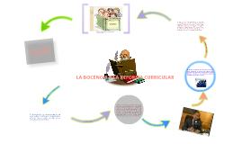 LA DOCENCIA Y LA REFORMA CURRICULAR