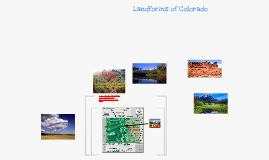 Landforms of Colorado