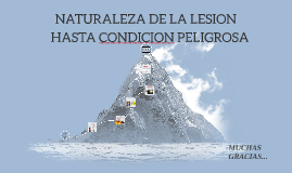 Copy of NATURALEZA DE LA LESION
