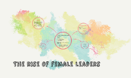 The rise of female leaders