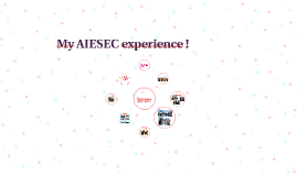 My AIESEC experience !