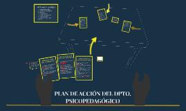 Copia de PLAN DE ACCIÓN DEL DPTO. PSICOPEDAGÓGICO