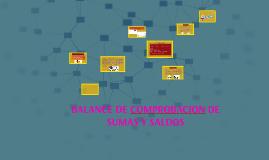 Copy of BALANCE DE COMPROBACION DE SUMAS Y SALDOS