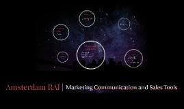 Amsterdam RAI | Marketing Communication and Sales Tools