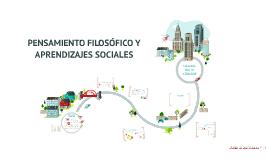 Pensamiento Filosófico y Aprendizajes Sociales