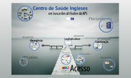 Experiências Exitosas: o caso do CS Ingleses em Florianópolis