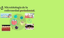 Copy of Microbiología de la enfermedad periodontal.