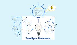 Paradigma Premoderno