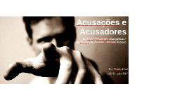 Acusações e Acusadores