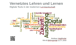 Vernetztes Lehren und Lernen – Digitale Tools in der modernen Lernlandschaft