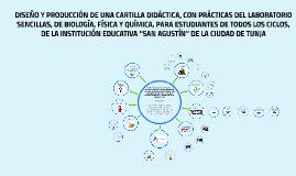 DISEÑO Y PRODUCCIÓN DE UNA CARTILLA DIDÁCTICA, CON PRÁCTICAS