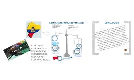 Ins. Públicos y Privados en el Ecuador