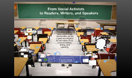 From Social Activists to Reader, Writers, and Speakers
