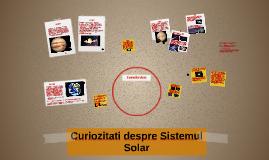 Curiozitati despre Sistemul Solar