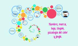 Nombre, marca, logo, slogan y psicología del color