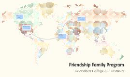 Friendship Family Program