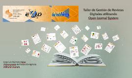 Taller de Gestión de Revistas Digitales utilizando Open Jo