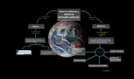 Interacciones biótico y abiótico y Problemas Ambientales