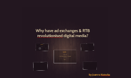 Ad exchanges & RTB