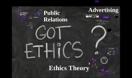 Rev COM 200 Unit Five Public Relations, Advertising and Ethics