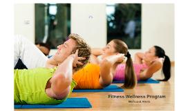 Fitness Wellness Program