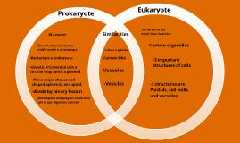 Prokaryote vs. Eukaryote Venn Diagram by sam rocco on Prezi