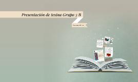 Copy of Presentación de tesina Grupo 3 B