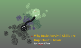 Why Basic Survival Skills are Important to Know