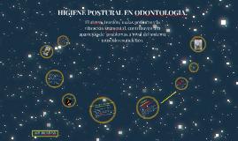 Copy of HIGIENE POSTURAL EN ODONTOLOGIA
