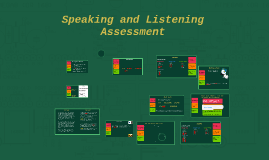 Speaking and Listening Assessment