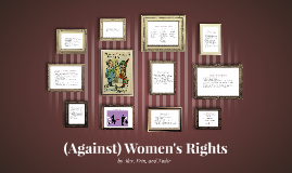 (Against) Women's Rights