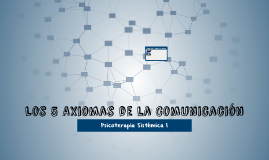 Los 5 Axiomas de la Comunicacion